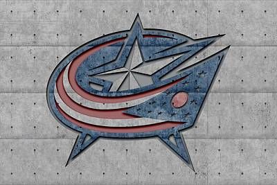 Columbus Blue Jackets Art Print by Joe Hamilton