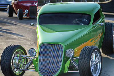 Photograph - 33 Foose Coupe by Bill Dutting