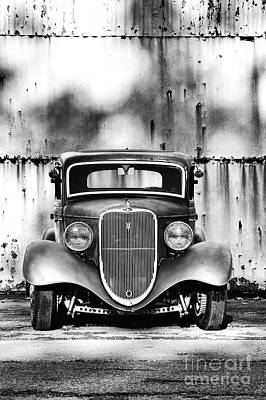 Shadows And Light Photograph - 33 Ford V8 by Tim Gainey