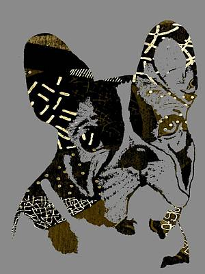 French Bulldog Collection Art Print by Marvin Blaine