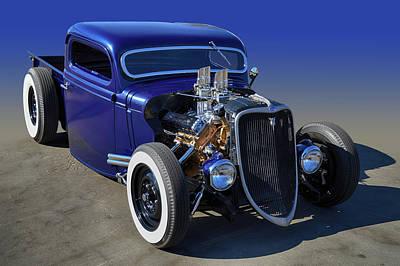 Photograph - 33 Hot Rod Truck by Bill Dutting
