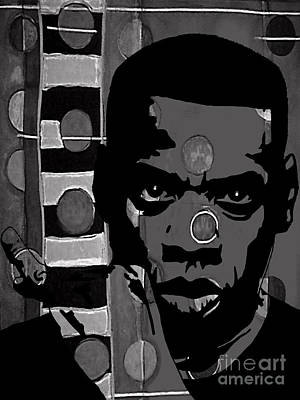Jay Z Collection Art Print by Marvin Blaine