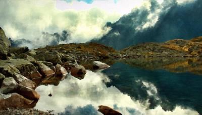 Sky Digital Art - Landscape Hd by Landscape Art