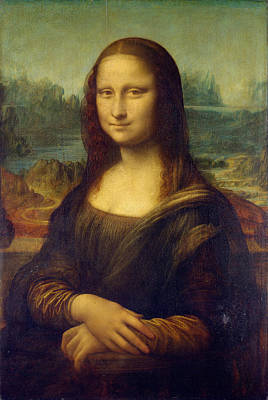 Mona Lisa Painting - Mona Lisa by Leonardo da Vinci