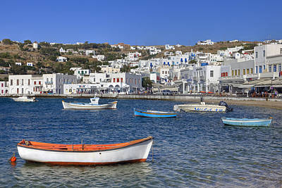Fishing Village Photograph - Mykonos by Joana Kruse