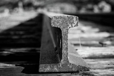 Photograph - Railroad Track by Vintage Pix