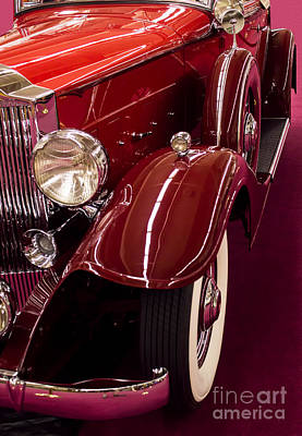 Photograph - 33 Packard 1001 Coupe Roadster by Steven Parker