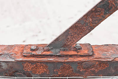 Messy Photograph - Rusty Metal by Tom Gowanlock
