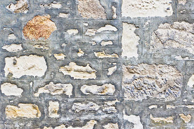 Stone Wall Art Print by Tom Gowanlock