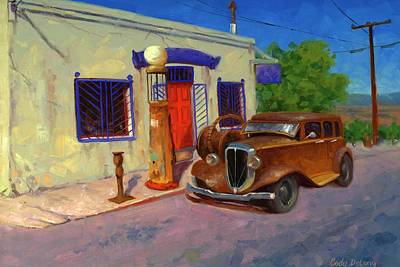 Pump Painting - 33 Studebaker  by Cody DeLong