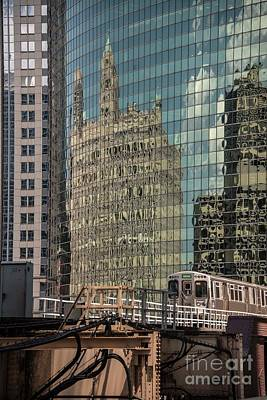Photograph - 333 Wacker Drive - Chicago by David Bearden