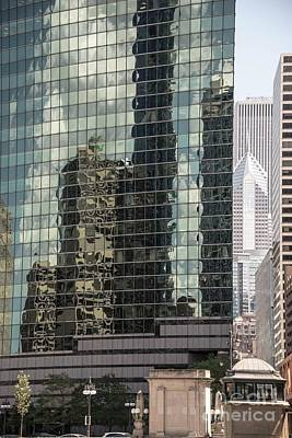 Photograph - 333 Wacker Drive Reflections by David Bearden