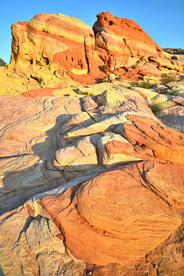 Nike Photograph - Valley Of Fire by Ray Mathis