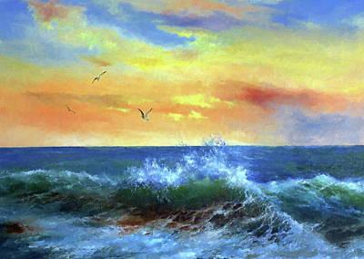 Nature Painting - Nature Landscape Nature by Edna Wallen