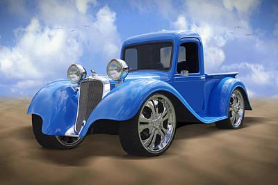 34 Dodge Pickup Print by Mike McGlothlen
