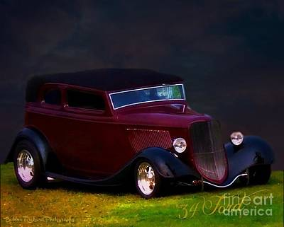 Photograph - 34 Ford Heart Throb by Bobbee Rickard