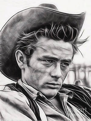 James Dean Collection Art Print by Marvin Blaine