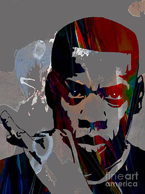 Pop Art Mixed Media - Jay Z Collection by Marvin Blaine