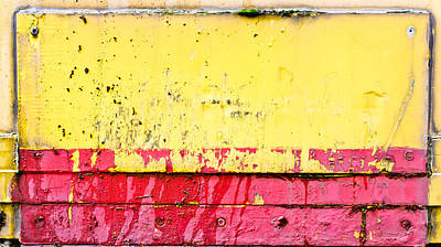Junk Photograph - Metal Background  by Tom Gowanlock