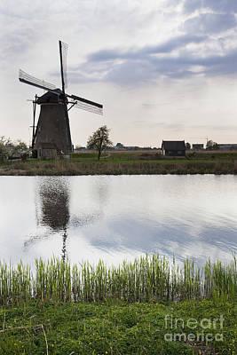 Mills In Netherlands Art Print by Andre Goncalves