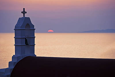 Greek Photograph - Mykonos by Joana Kruse