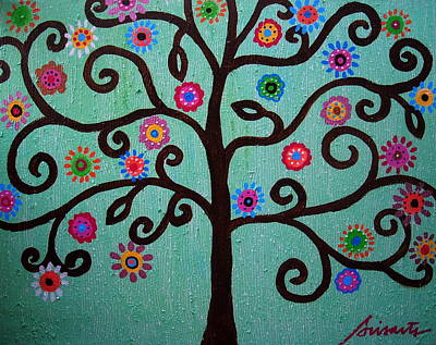 Tree Of Life Painting - Tree Of Life by Pristine Cartera Turkus