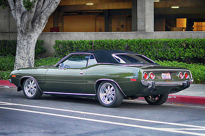 Photograph - 340 6-pak Cuda by Bill Dutting