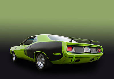 Photograph - 340 Cuda  by Bill Dutting