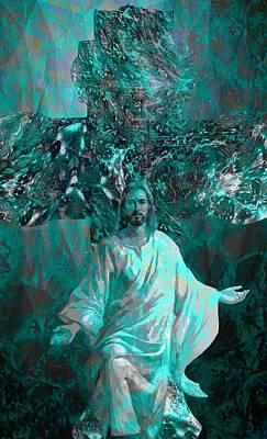 Jesus Christ Icon Digital Art - Jesus Christ - Religious Art by Elena Kosvincheva