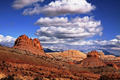 Capitol Reef National Park Art Print by Mark Smith