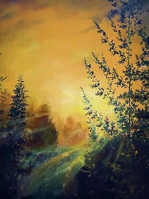 Landscapes Painting - Nature Landscape Nature by Edna Wallen