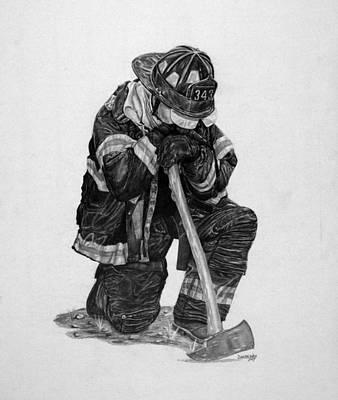 343 Art Print by Duncan  Way