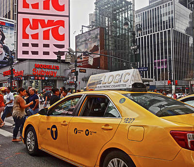 Photograph - 34th Street New York City by Joan Reese