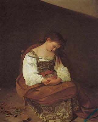 Caravaggio   Art Print by Caravaggio
