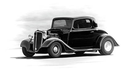 Photograph - 35 Chevy Coupe by Steve McKinzie