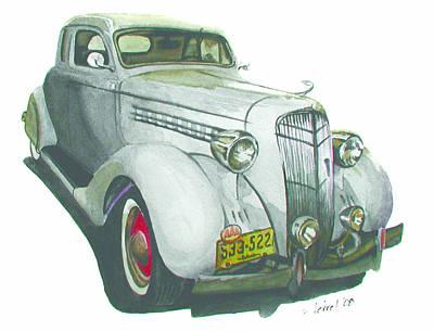 35 Desoto Art Print by Ferrel Cordle