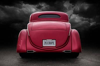 Digital Art - 35 Ford Coupe by Douglas Pittman
