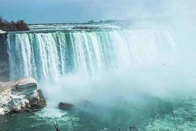 Photograph - Niagara Falls Scenery In Winter by Carl Ning