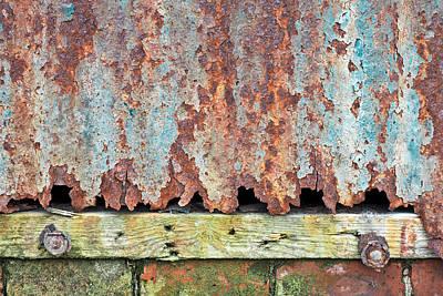 Rusty Metal Art Print