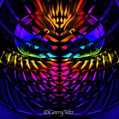 Digital Art - Untitled by Gerry Tetz