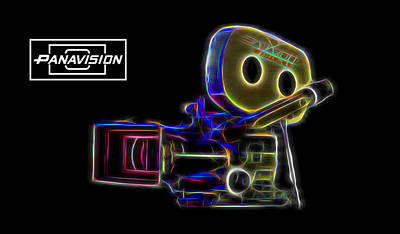 Digital Art - 35mm Panavision by Aaron Berg