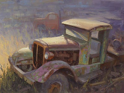 Rusty Painting - 36 Corbitt 4x4 by Cody DeLong