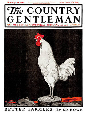 Cover Of Country Gentleman Agricultural Print by Remsberg Inc