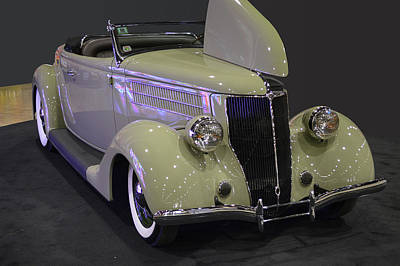 Photograph - 36 Ford Roadster by Bill Dutting