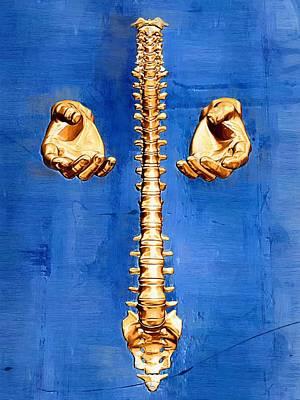 Healthcare Digital Art - Healing Hands by Joseph Ventura