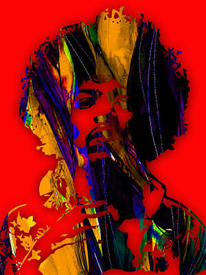 Music Mixed Media - Jimi Hendrix Collection by Marvin Blaine