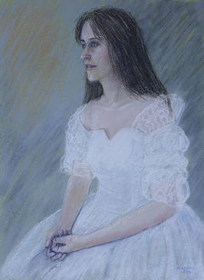 Pastel - Portrait by Masami Iida