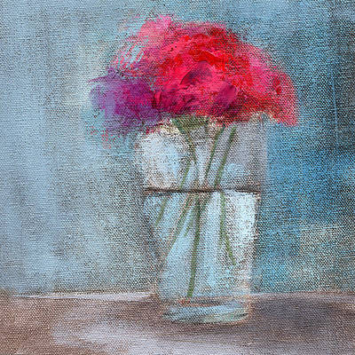 Floral Still Life Painting - Rcnpaintings.com by Chris N Rohrbach