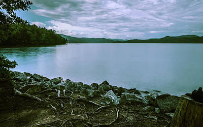 Photograph - Scenery Around Lake Jocasse Gorge by Alex Grichenko