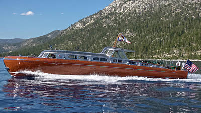 Photograph - Iconic Wooden Runabouts by Steven Lapkin
